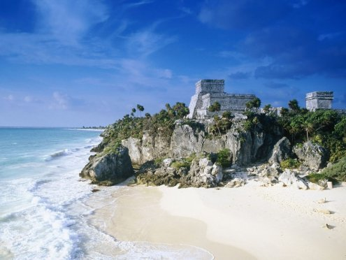 playa de Tulum, México