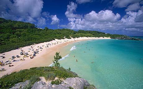 Playa Horseshoe Bay, Bermudas
