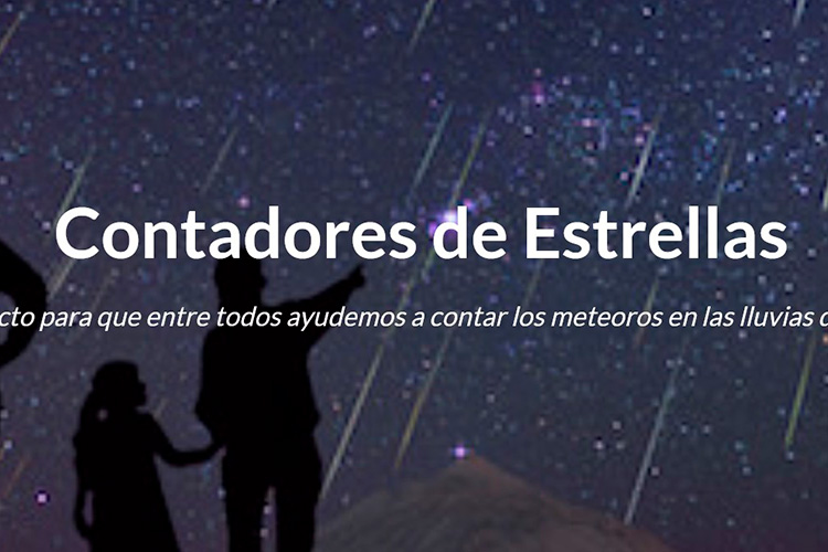 contadores de estrellas-curiosidades sobre la lluvia de estrellas