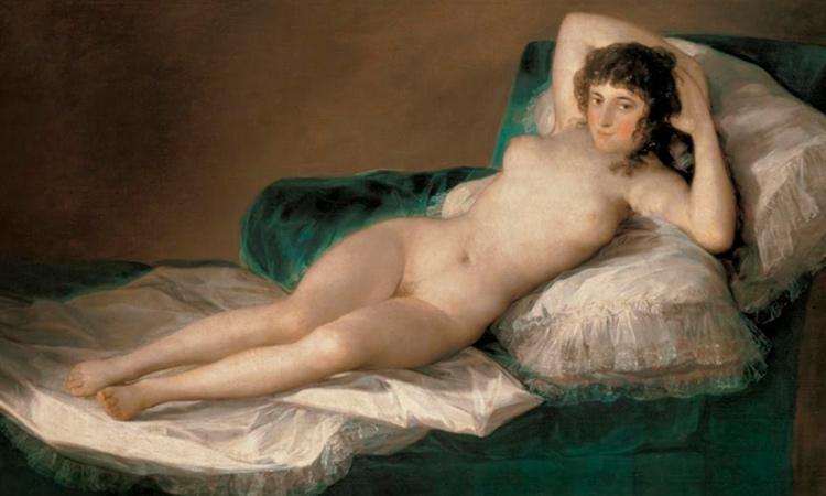 la maja desnuda-curiosidades sobre goya